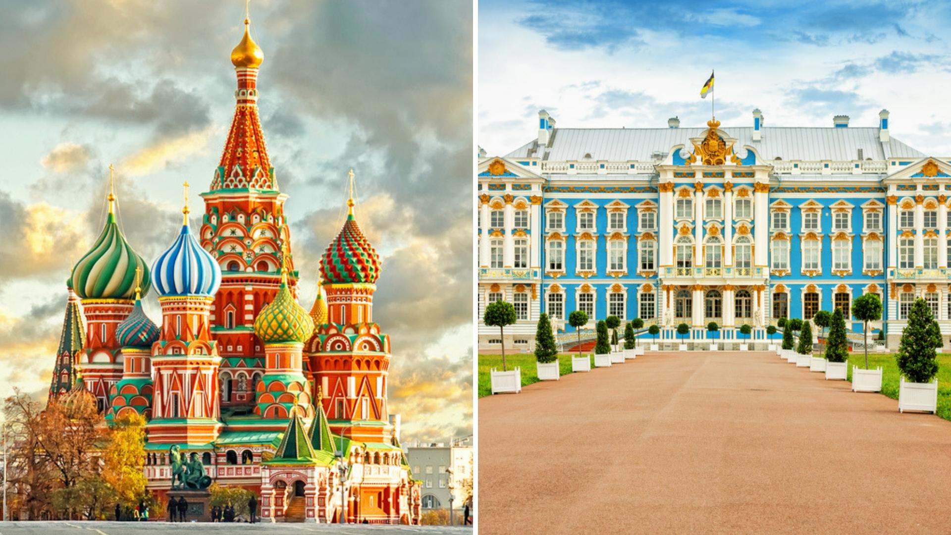 سفر به مسکو بهتر است یا سفر به سنت پترزبورگ؟
