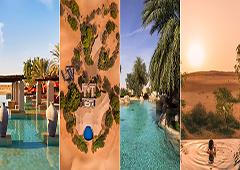 چندتا از زیباترین استراحتگاه های کویری امارات