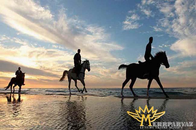 اسب سواری در کوش آداسی