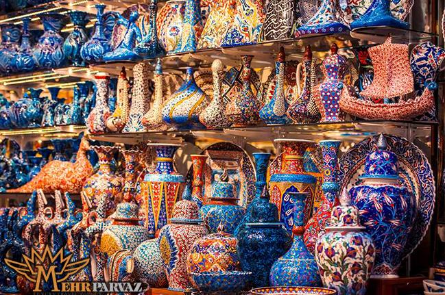بهترين فروشگاه هاي بازار بزرگ استانبول براي خريد منسوجات تركيه اي