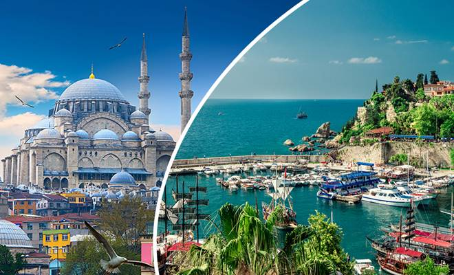 تصمیم نهایی برای انتخاب استانبول یا آنتالیا برای زندگی