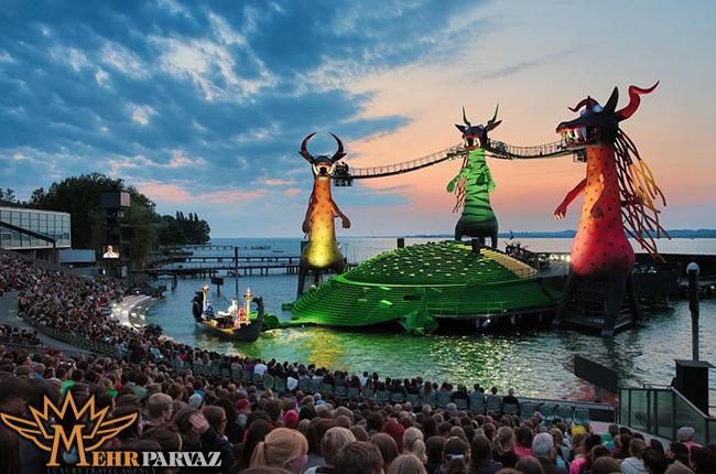 جشنواره تابستاني Bregenz وين،مهرپرواز