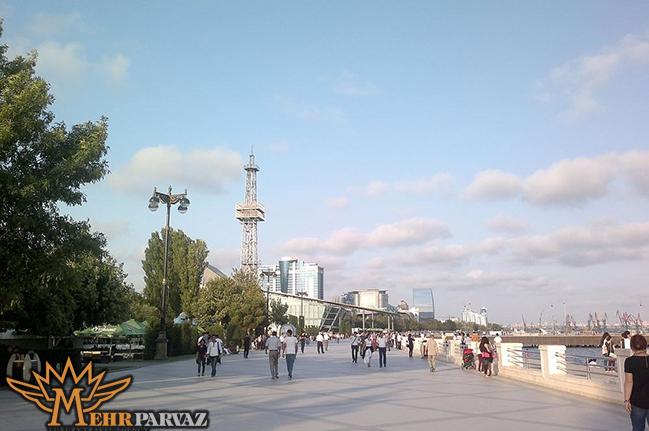 در آذربايجان آشغال نريزيد