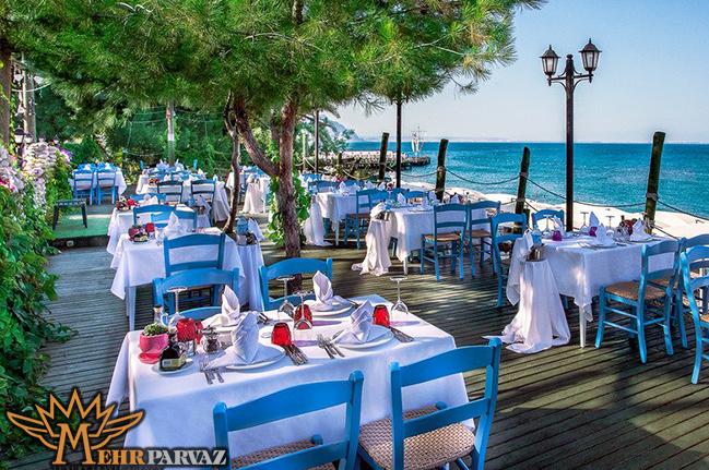 رستوران لا پاز کمر آنتالیا