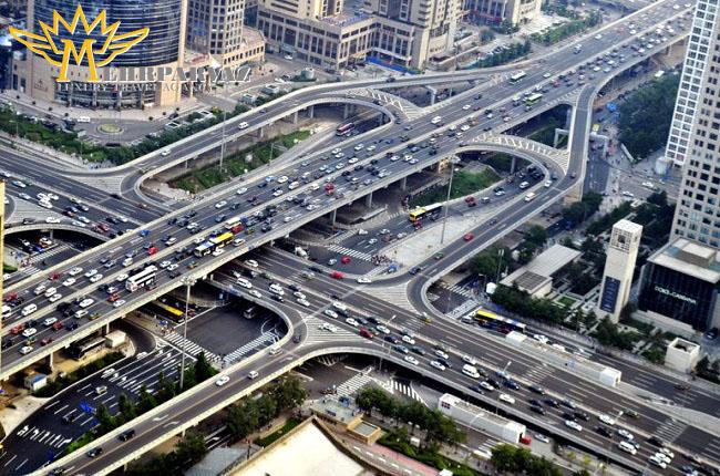 طولانی ترین جاده بر روی پل