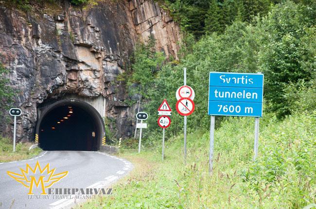 عمیق ترین جاده تونلی