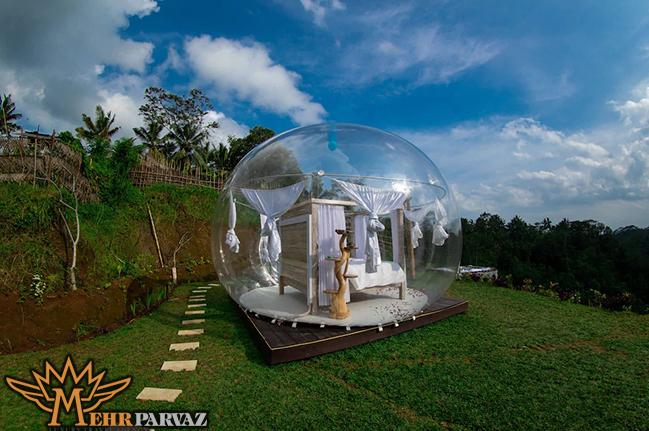 هتل حبابي در هتل بابل بالي