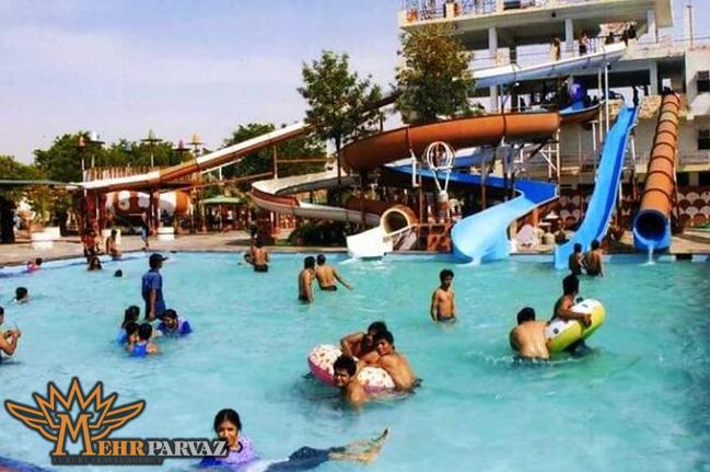 پارک آبی بیرلا سیتی در جیپور