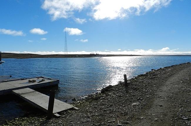 Cambridge Bay in Nunavut, Canada
