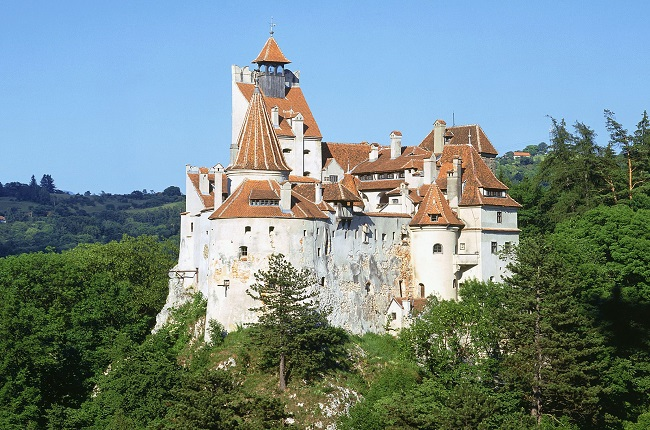 Count Dracula's Castle in Transylvania, Romania