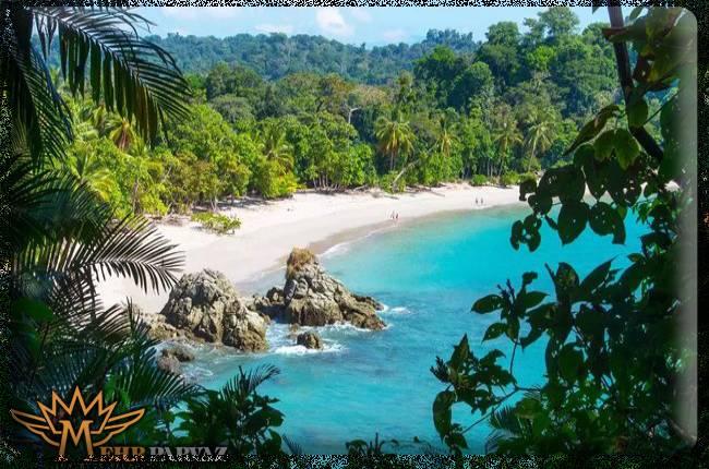طبیعت زیبا کاستاریکا