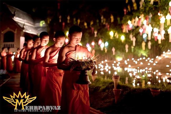 درباره فستیوال نور تایلند و مفهوم آن بیشتر بدانید