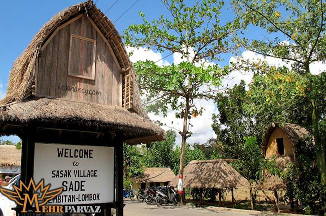 نما از ورودی زیبای روستای های سنتی لومبوک