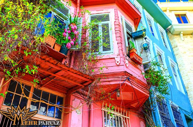 رنگي ترين محله استانبول