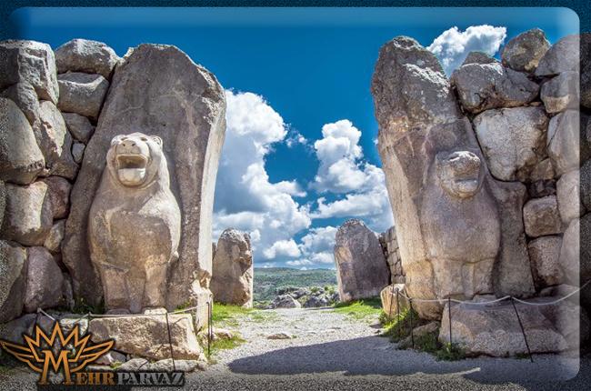 جاذبه های باستانی شهر هتوسا