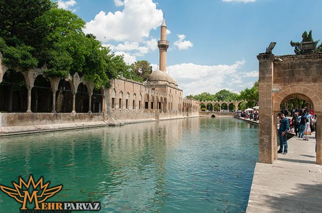 نمای از شهر تاریخی سانلیورفا ترکیه