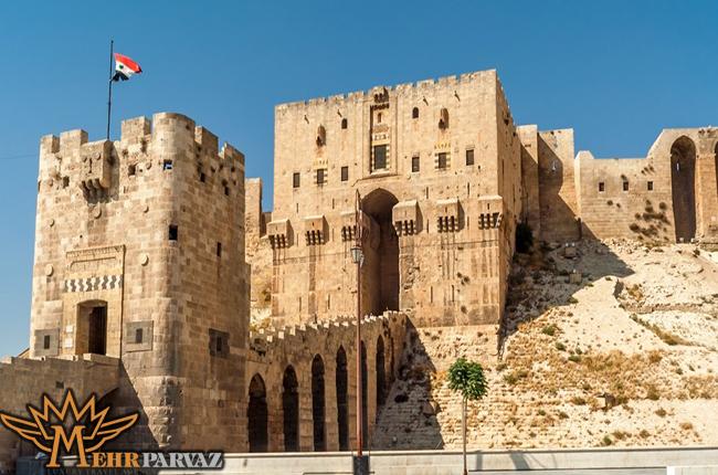 ساختمان بزرگ و تاریخی در حلب