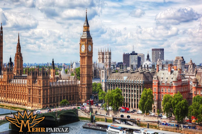 شهر زيبا لندن