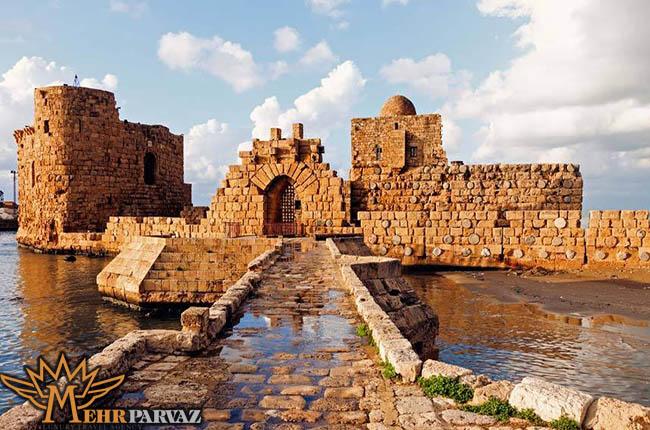 نما تاریخی شهر صیدون لبنان