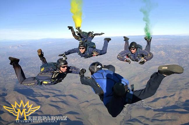 اسکای دایوینگ (پرش از هواپیما) در تایلند یک تجربه هیجان انگیز