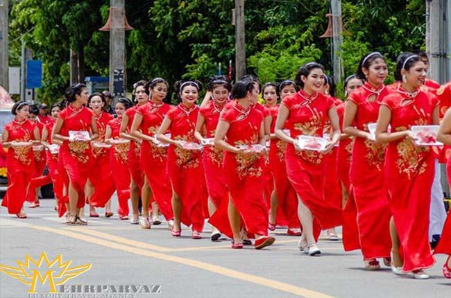 جشنواره ارواح تايلند